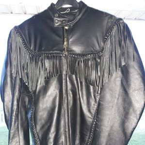 Vanguard of America Leather Riding Jacket